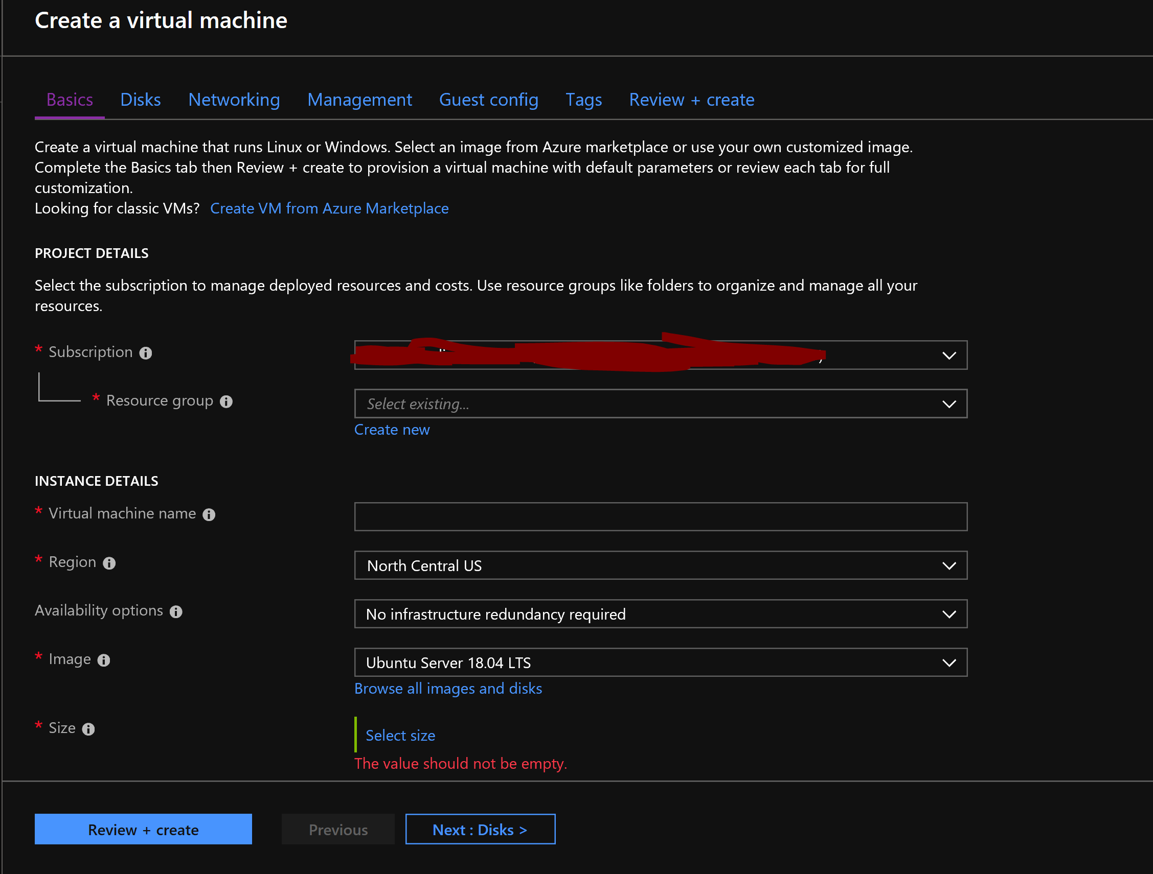 Create and configure a Virtual Machine (VM) for Windows and
