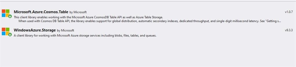 Insert Data Into Azure Table Storage Using ASP.NET Core Application