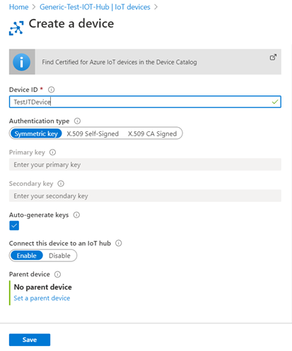Getting Started With Azure IoT Hub And Devices
