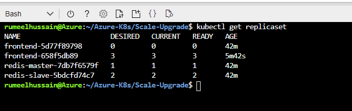 How To Upgrade Azure Kubernetes Service Application Using The YAML Files