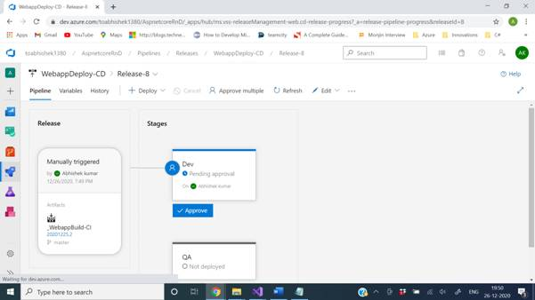 Learning Azure Devops - Variables, Variable groups, Gates And Approvals