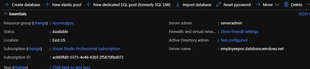 Creating Your First Azure SQL Database And Configure Firewall Settings