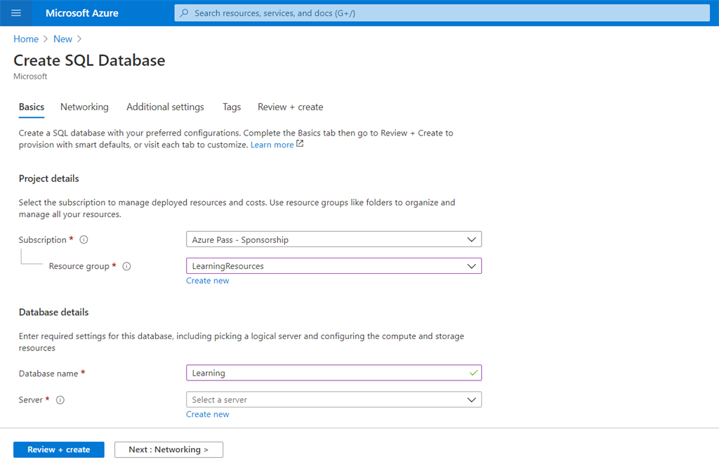Develop A REST API With Azure Functions Using SQL