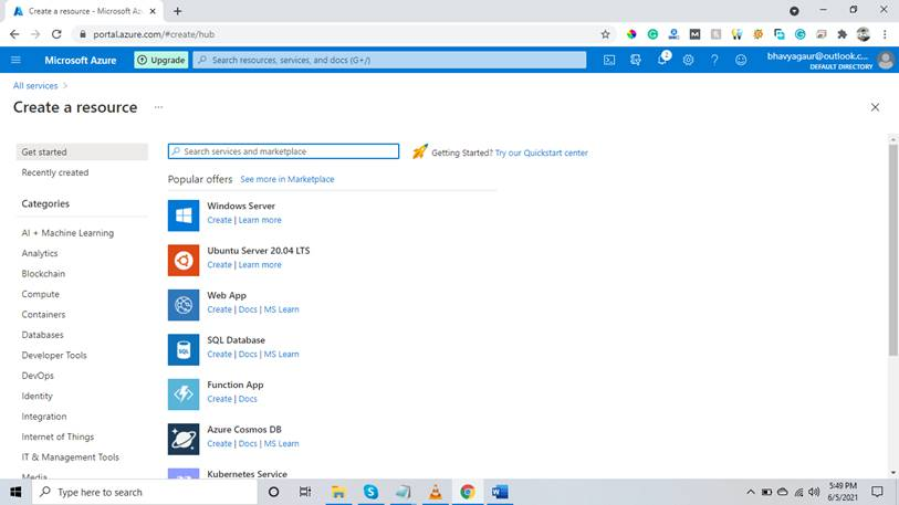 How To Create A SQL Server Instance In The Managed Virtual Machine